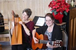 Anita & Cathy sharing music